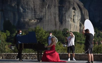 Promoting Cultural Heritages with Music: the example of Meteora, Greece